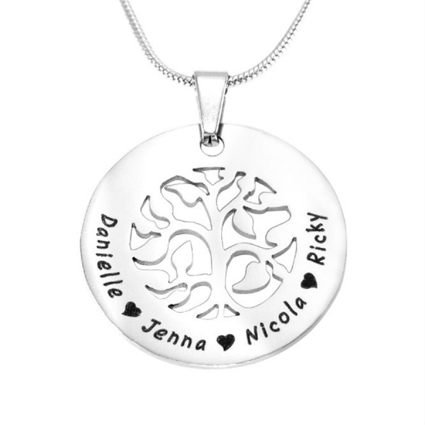 Personalised BFS Family Tree Necklace - Crafted By Birthstone Design™