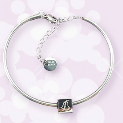 Personalised  Charm Bangle - Crafted By Birthstone Design™
