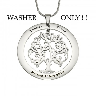 Personalised ADDITIONAL Tree of My Life WASHER ONLY - Crafted By Birthstone Design™