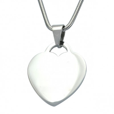 Personalised Heart of Necklace - Crafted By Birthstone Design™