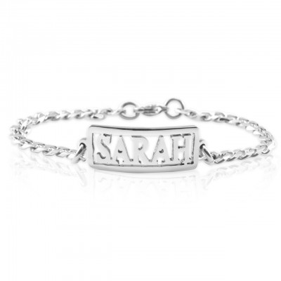 Name Necklace/Bracelet/Anklet - DIY Name Jewellery With Any Elements - Crafted By Birthstone Design™