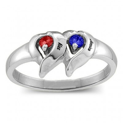 Cerca  Ring with 1-4 Stones  - Crafted By Birthstone Design™