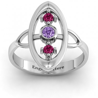 Soulful Window  Ring - Crafted By Birthstone Design™