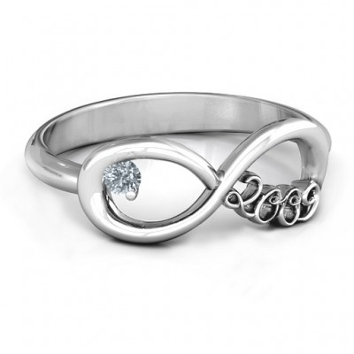2009 Infinity Ring - Crafted By Birthstone Design™
