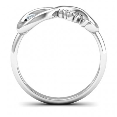2011 Infinity Ring - Crafted By Birthstone Design™