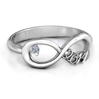2014 Infinity Ring - Crafted By Birthstone Design™