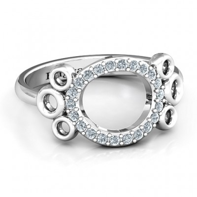 7 Circles Karma Ring - Crafted By Birthstone Design™