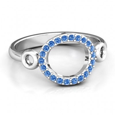 Accented Karma Ring - Crafted By Birthstone Design™