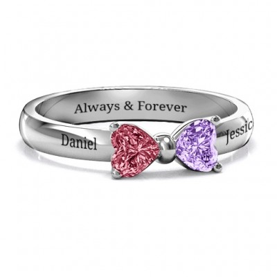 Adorable Bow Ring - Crafted By Birthstone Design™