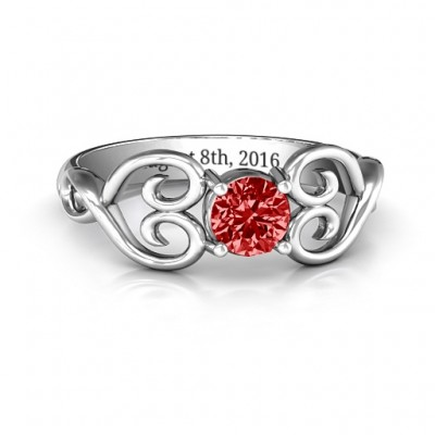 Always In My Heart Promise Ring - Crafted By Birthstone Design™