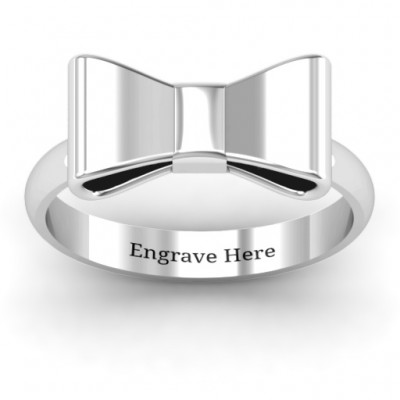 Bow Tie Ring - Crafted By Birthstone Design™