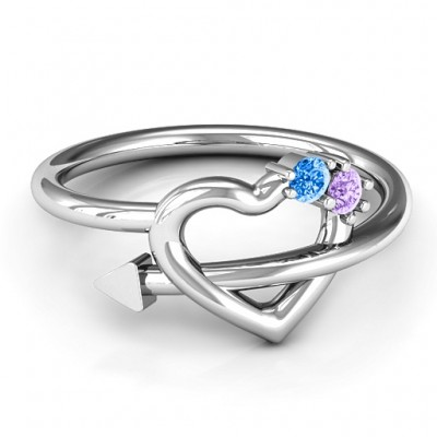 Cupid's Hold Love Ring - Crafted By Birthstone Design™