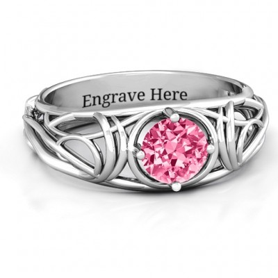 Enchanting Tangle of Love Ring - Crafted By Birthstone Design™
