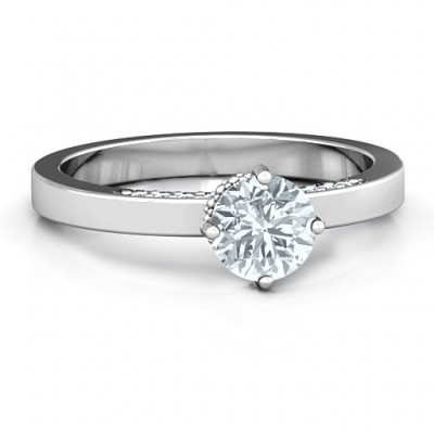 Enchantment Solitaire Ring - Crafted By Birthstone Design™