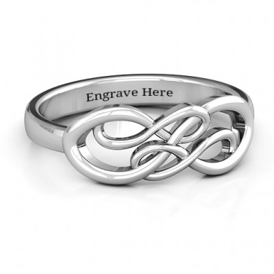 Everlasting Infinity Ring - Crafted By Birthstone Design™