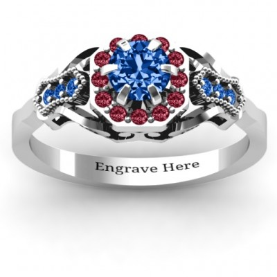Fancy Vintage Ring - Crafted By Birthstone Design™