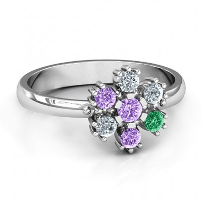 Flower Power Ring - Crafted By Birthstone Design™