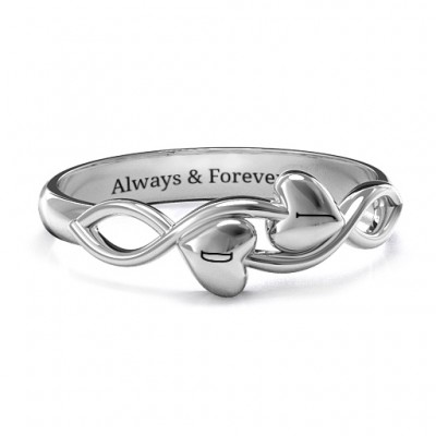 Heavenly Hearts Ring - Crafted By Birthstone Design™