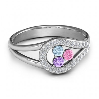 Illuminating Accents Ring - Crafted By Birthstone Design™