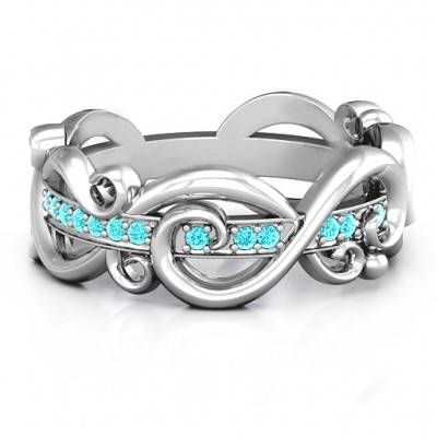 Imperative Love Infinity Ring - Crafted By Birthstone Design™
