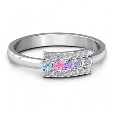 Layers Of Light Ring - Crafted By Birthstone Design™