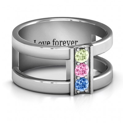Layers Of Love Ring - Crafted By Birthstone Design™