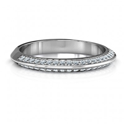 Malania Band Ring - Crafted By Birthstone Design™
