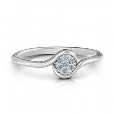 Modern Flair Ring - Crafted By Birthstone Design™