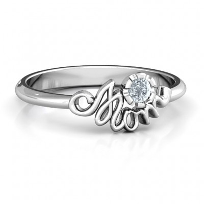 Mom's Reminder Ring - Crafted By Birthstone Design™