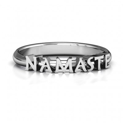 Namaste Ring - Crafted By Birthstone Design™