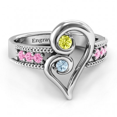 Nesting Love Ring - Crafted By Birthstone Design™