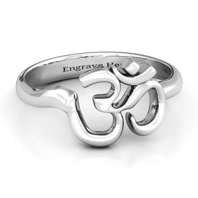 Om - Sound of Universe Ring - Crafted By Birthstone Design™