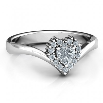 Peak of Love Ring - Crafted By Birthstone Design™