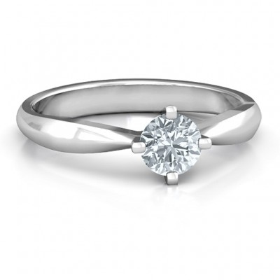 Sandra Solitaire Ring - Crafted By Birthstone Design™