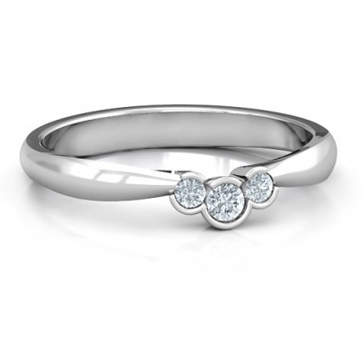 Selena Band Ring - Crafted By Birthstone Design™