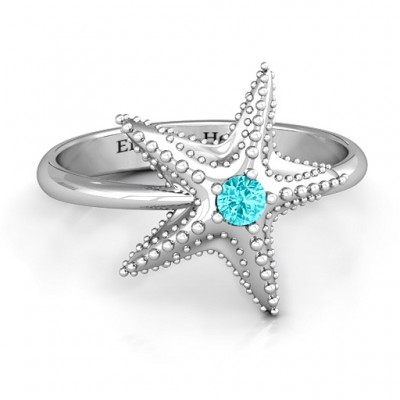 Starfish Ring - Crafted By Birthstone Design™