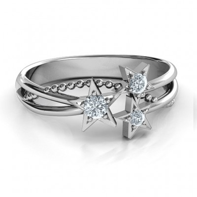 Twinkling Starlight Ring - Crafted By Birthstone Design™