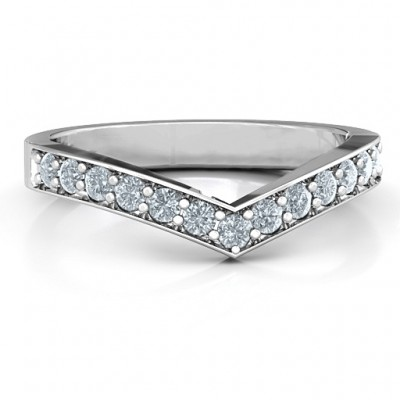 Vanessa Band Ring - Crafted By Birthstone Design™