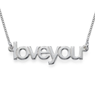 I Love You Necklace - Crafted By Birthstone Design™