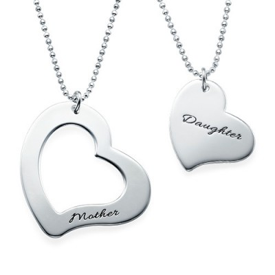 Mum is My Heart Mother Daughter Necklaces - Crafted By Birthstone Design™