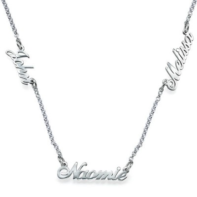 Personalised Jewellery for Mums - Multiple Name Necklace - Crafted By Birthstone Design™