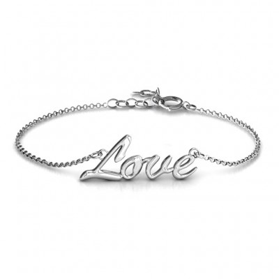 Personalised Love Spell Bracelet - Crafted By Birthstone Design™