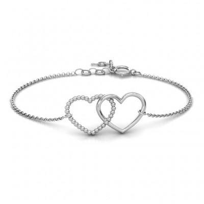 Personalised Opposites Attract Bracelet - Crafted By Birthstone Design™