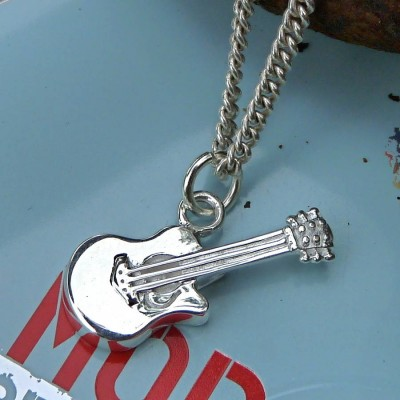 Guitar Pendant - Crafted By Birthstone Design™