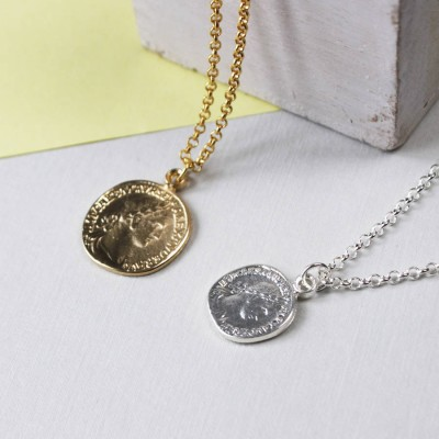 Coin Necklace - Crafted By Birthstone Design™