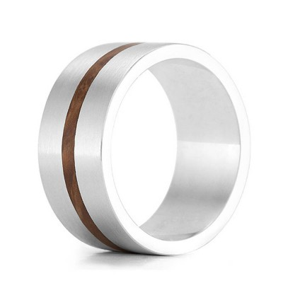 Wood Ring Drift - Crafted By Birthstone Design™