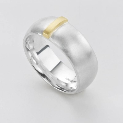 Linear Ring - Crafted By Birthstone Design™