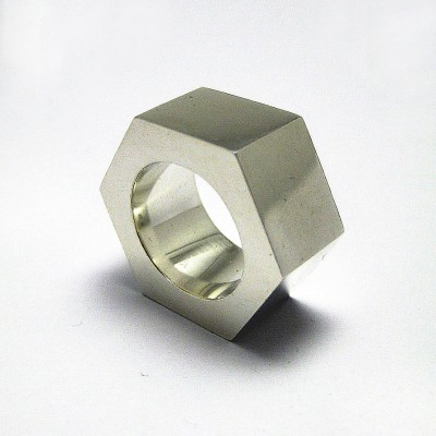 Large Nut Ring - Crafted By Birthstone Design™
