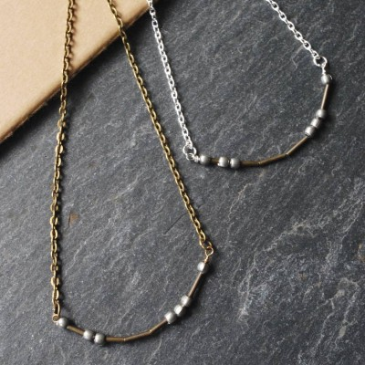 Love Morse Code Necklace - Crafted By Birthstone Design™