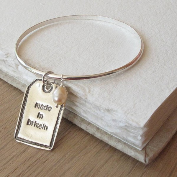 Personalised Silver Designer Label - Crafted By Birthstone Design™